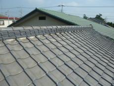 リフォーム前の屋根の全景