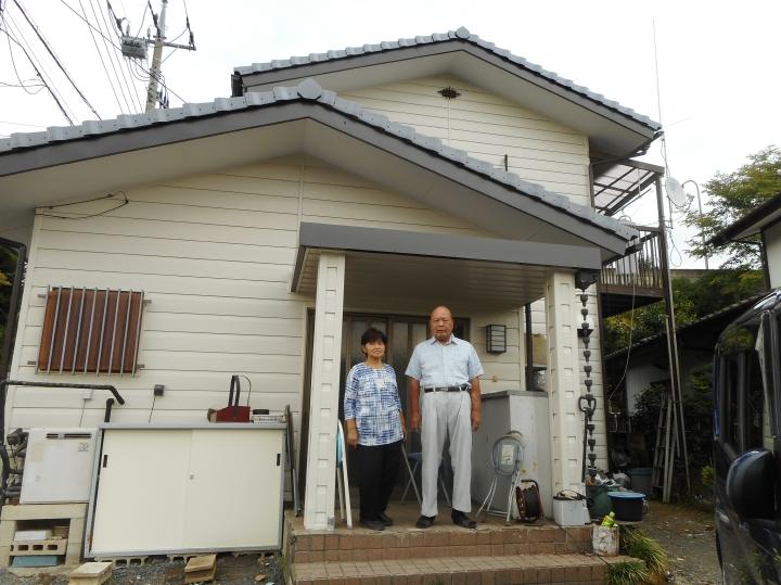 佐野市で屋根葺き替え、外壁塗装をされたK様の声