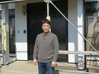 栃木県小山市で屋根修理・外壁塗装をされたK様の声