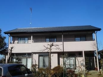 小山市 I様邸 屋根葺き替え・外壁塗装リフォーム事例