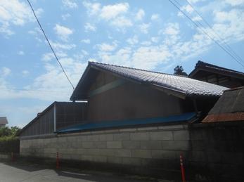 栃木市 S様邸 屋根瓦葺き替え・雨樋交換・外壁一部張替え事例