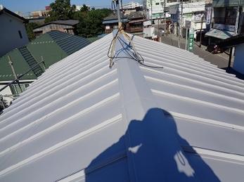 栃木市 M様邸 板金屋根葺き替え・雨樋交換事例