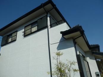 小山市 K様邸 屋根、雨樋補修・外壁塗装リフォーム事例