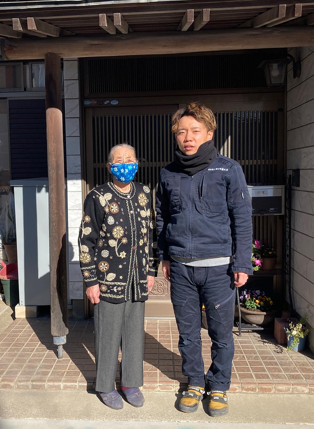 栃木市で雨樋の修理をされたH様の声